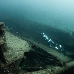 spearfishing shipwreck North Carolina freediving